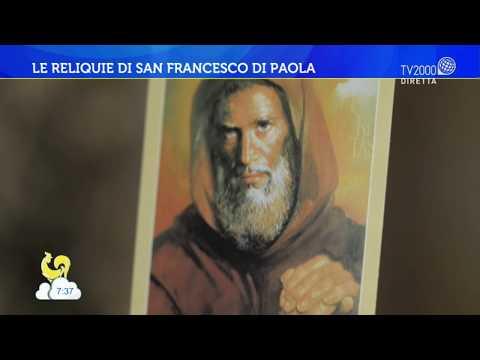 Le reliquie di San Francesco Di Paola