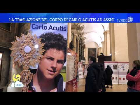 La traslazione del corpo di Carlo Acutis ad Assisi