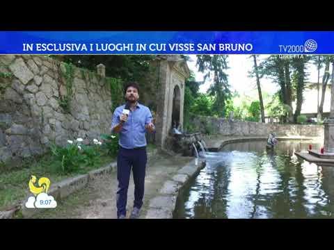 In esclusiva i luoghi in cui visse San Bruno
