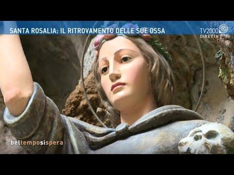 Santa Rosalia: il ritrovamento delle sue ossa