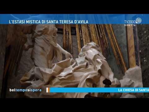 L'estasi mistica di Santa Teresa D'Avila