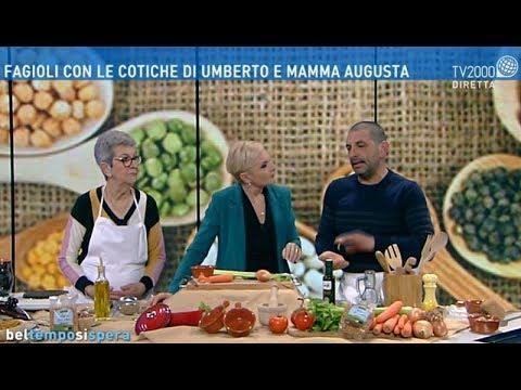 Fagioli con le cotiche di Umberto e mamma Augusta